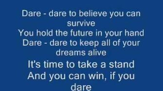 Kristijan's theme song- Dare