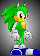 Kristijan the hedgehog