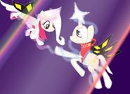 Pony Kamira and Pony Ghirahim