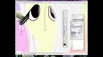 .. My OC's drawing - Kamira .