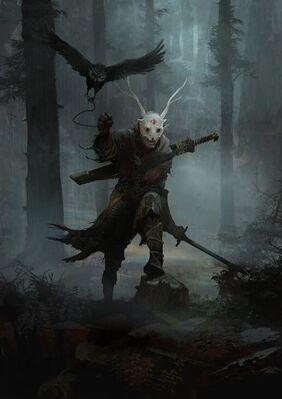 Wood elf berserker