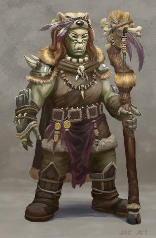 File:Orc shaman by firstnull-d5bz2kk.jpg