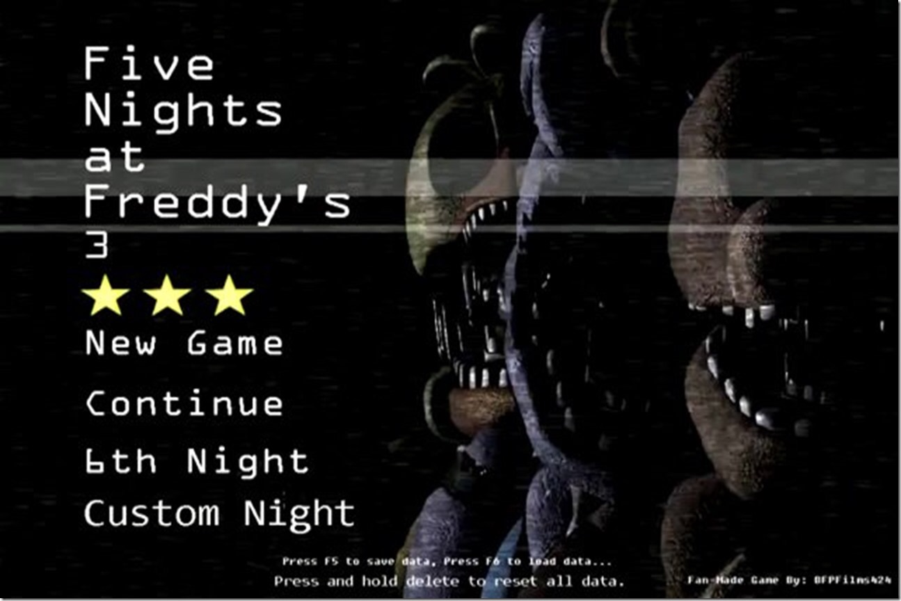five nights at freddy s 3 fan made game the return to freddy s 2