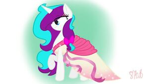 Re post request ice gaze s gala dress by 8 bitmasquerade-d9m7107
