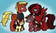 Firerose family by inkrose98-d7rf33w