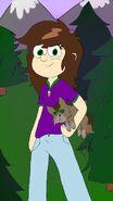 FallenWish Gravity Falls Oc (Chessie Forrester)