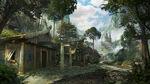 Fantasy viking village by aballom-d86wb89