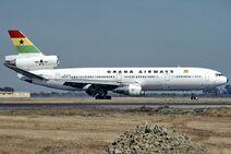 8McDonnell Douglas DC-10-30, Ghana Airways JP6475186