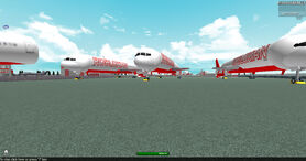 Robloxian airlines airliners