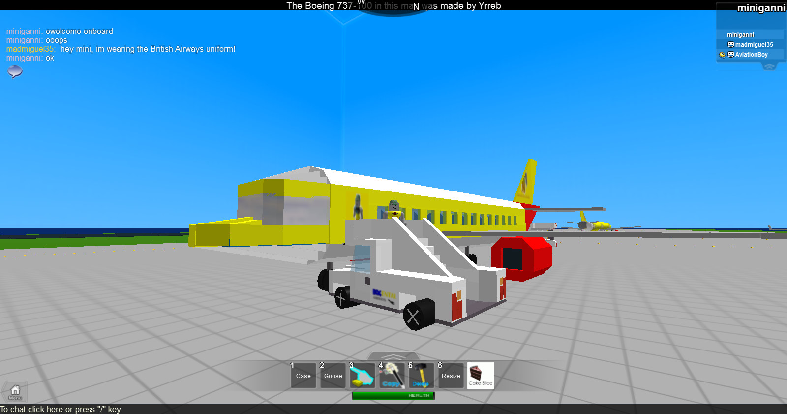Mini Air | The Roblox Airline Industry Wiki | FANDOM powered