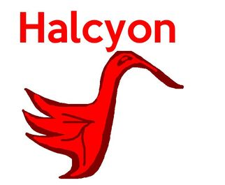 Halcyon Airlines logo