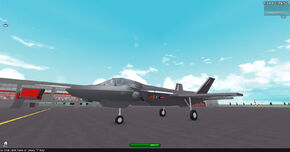 F-35 tarmac