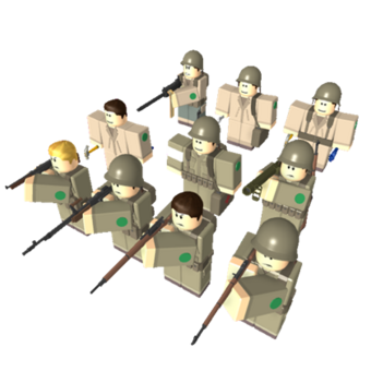 American Ww2 Soldiers The Official Conquerors Wiki Fandom