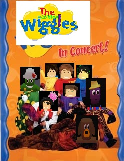 The Roblox Wiggles In Concert The Roblox Wiggles Wiki Fandom