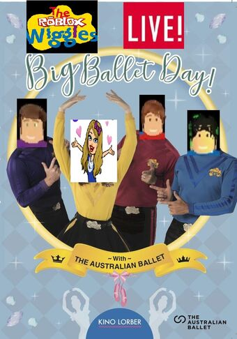 Ballet Roblox The Roblox Wiggles Big Ballet Day Live Soundtrack The Roblox Wiggles Wiki Fandom