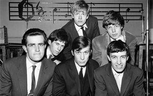 Rolling Stones con Ian Stewart