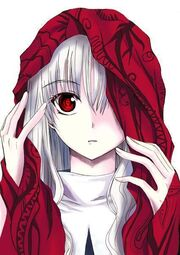Cute anime vampire