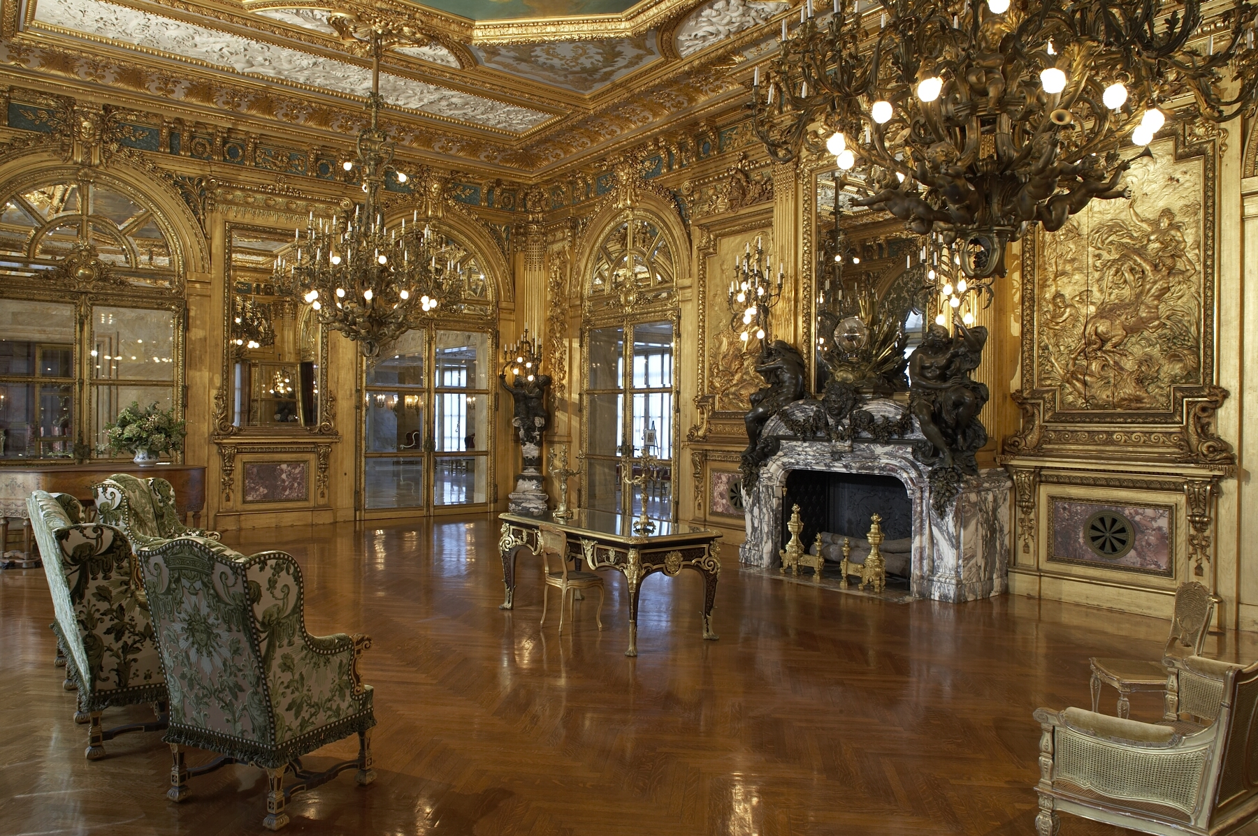 Image - Marble-House-gold-room.jpg | The RP Fear Wiki | FANDOM ...