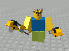 Fromlegouniverse3's and ROBLOX's Two-Handed Weapons | The RPG Makers