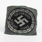 Nazi disguise worn by British SOE