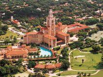 Biltmore Hotel aerial