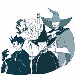 Mahgo family portrait