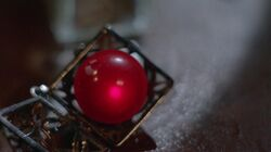 Red Mercury globe