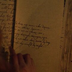 John Hale's Book of Shadows entry