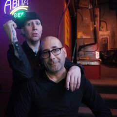 Marilyn Manson with Adam Simon