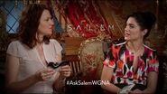 Ask Salem- Janet Montgomery & Lucy Lawless