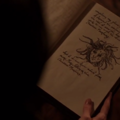 Anne Hale's grimoire entry about the Witch Hag