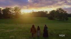 Shaman,Sooleawa & Alden entering Heaven
