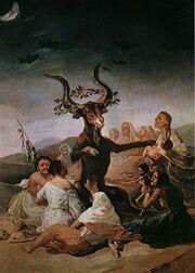 Image Sabba quadro di Goya