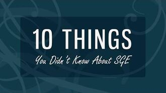 EverNever TV 10 Things You Didn't Know About SGE