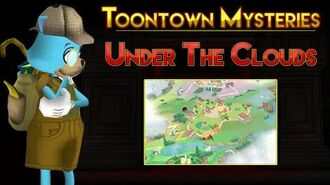 Toontown Mysteries The Original Toontown Map