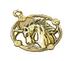 C520 Myths of China i03 Yellow Unicorn