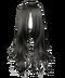 C165 Week of terror i05 Black wig