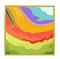 C386 Ancient Mosaic i04 The River of Colors Mosaic