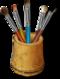 C059 Paint brushes i06 Set of brushes