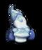 C082 Gzhel toys i01 Gzhel dwarf