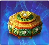 Antique Jewelry Box The Legend Returns