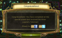 Forgotten Story Quest Complete Notification