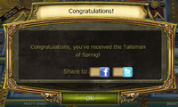 Spring Festival Quest Complete Notification
