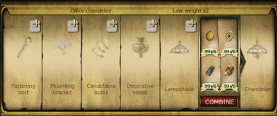 Collection 335 Office chandelier cropped