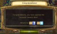 Magic Tour Souvenir Jewelry Box Open Notification