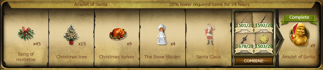 A06 Amulet of Santa 2013