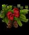 C190 Christmas decorations i02 Cones