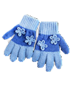 C305 Bad weather protection i04 Gloves with flowers