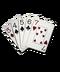 C045 Poker Combinations i01 Straight