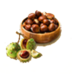 C523 Ingredients for recovery i04 Chestnuts